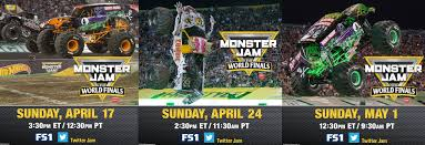 how to become a monster truck driver for monster jam how to watch monster jam world finals on fs1 monster jam