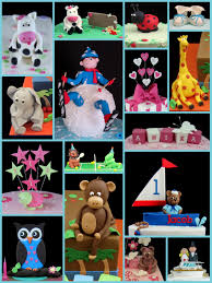 handmade sugarpaste and fondant cake toppers inspired by michelle