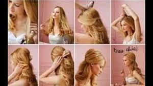 easy and quick hairstyles for school dailymotion easy hairstyles for long thin hair video dailymotion latest