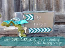 brag book photo album mini album or brag book for your handbag the happy scraps