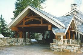 Cottage House Plans With Porte Cochere by Entries U0026 Porte Cochere Dreaming Creek Timber Frame Cabin