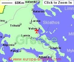 volos map volos nea anchialos airport greece vol guide flights