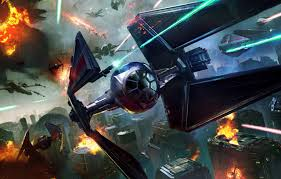 hybrid fighters id4 2 vs tie fighters star wars the empire