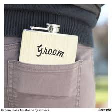 and groom flasks groom flask mustache grooms men gifts and grooms