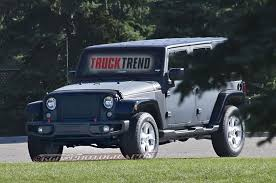 jeep truck 2018 lifted 2018 jeep wrangler mule spied again photo u0026 image gallery