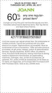 joanns coupon app jo fabrics 60 1 item coupon valid in store slickdeals net