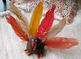 how to make turkey feathers clay turkey family crafts