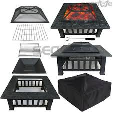 Whalen Fire Pit by Fire Pit Cover Ebay
