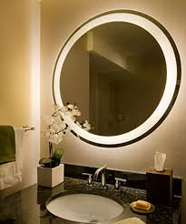bathroom mirror with built in tv vanity decoration