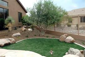 Front Yard Desert Landscape Mediterranean Exterior Desert Landscaping Ideas Desert Gardens Nursery Landscape
