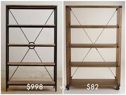 Bookcases Under 100 Julia U0027s Product Research Industrial Style Bookcase For Under 100