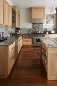 kitchen countertop ideas with maple cabinets maple kitchen cabinets contemporary kitchen andre