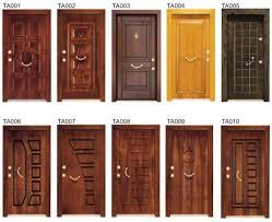 modern wood door front doors awesome brown front door design idea with glass