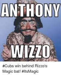 Chicago Cubs Memes - anthony wizzo cubs win behind rizzo s magic bat itsmagic chicago