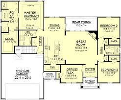 european style house plan 3 beds 2 00 baths 1842 sq ft plan 430 89