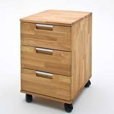rollcontainer echtholz massivholz schreibtisch aus eiche adrion wohnen de