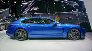 electric porsche panamera porsche panamera sport turismo was always intended for wagon hating
