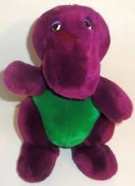 Barney And Backyard Gang Vintage Original Dakin Barney Purple Dinosaur Backyard Gang First