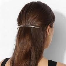 barrette hair 1 pc women silver gold metal leaf hair clip hairpin barrette hair