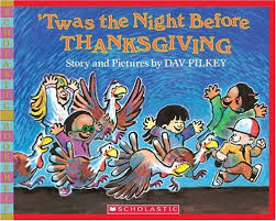 twas the before thanksgiving bookshelf dav pilkey