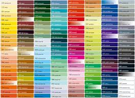 imron color chart real fitness