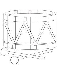toy drum coloring page download free toy drum coloring page for