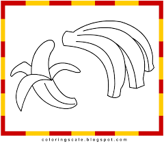 coloring pages printable for kids banana coloring pages for kids