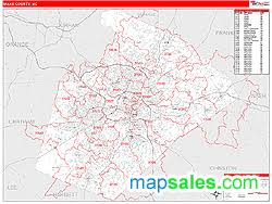 nc zip code map county nc zip code wall map line style by marketmaps