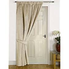 Door Draft Curtain Embossed Thermal Door Curtain Panel Energy Saving Draught Draft