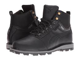 puma tatau fur boot gtx in black for men save 22 lyst