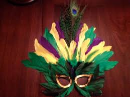 mardi gras feather masks diy mardi gras feather mask cheap and emily s enchantments
