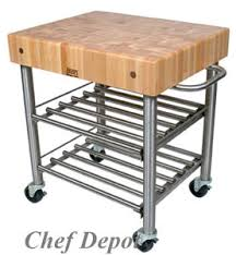 Maple Butcher Block Boos Maple Tables  Kitchen Carts Townhouse - Kitchen utility table