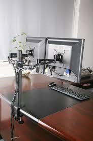 2 Monitor Computer Desk Stand V002y Discontinued Dual Monitor Desk Mount U2013 Vivous