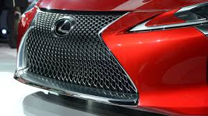 lexus 10 years old 2017 lexus lc debuts at 2016 detroit auto show