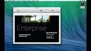 astounding free business card templates for mac staples cards work