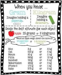 24 best mass and capacity gr 3 images on pinterest math