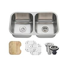 Kitchen Sink Basket 502a 16 Stainless Steel Kitchen Ensemble Bundle 6 Items