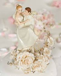 vintage cake topper vintage groom holding wedding cake topper
