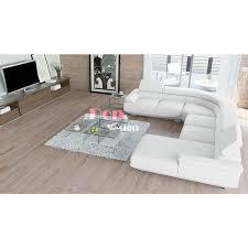 canap panoramique 10 places canapé d angle panoramique en cuir véritable cuba pop design fr