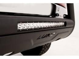 Led Light Bar For Cars by Lund Bull Bar W Led Light Bar Black 27121209 Sharptruck Com