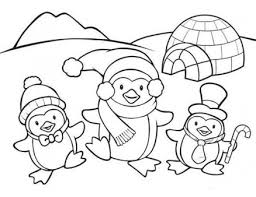 cute winter coloring pages cute penguin family coloring page christmas printables pinterest