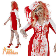 Size Nurse Halloween Costumes Curves Zombie Nurse Costume Ladies Halloween Fancy Dress