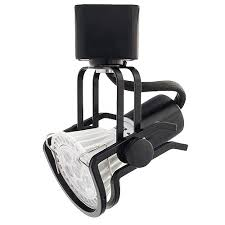 Mr16 Track Light Fixtures Gu10 Mr16 Black Wire Gimbal Ring Track Light Fixture
