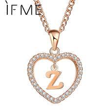 design necklace pendant images If me design z letter name necklaces pendant for women girl jpg