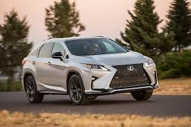 lexus mini wagon 2016 lexus rx review racy styling and practicality rolled up into