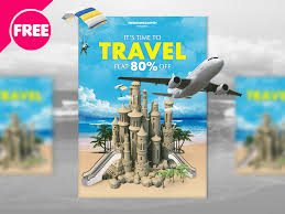 travel and tourism brochure templates free travel flyer template by free ps and tourism brochure