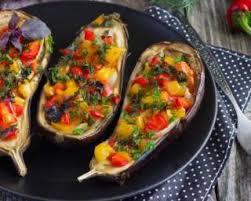 comment cuisiner l aubergine sans graisse la recette d aubergines brûle graisses farcies aux légumes grillés