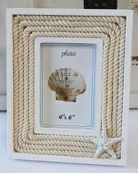 white wood u0026 nautical 4x6 starfish picture frame beach
