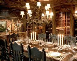 Gothic Dining Room Furniture Gothic Dining Room Houzz