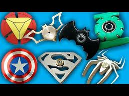 top best superhero fidget spinners batman spiderman captain